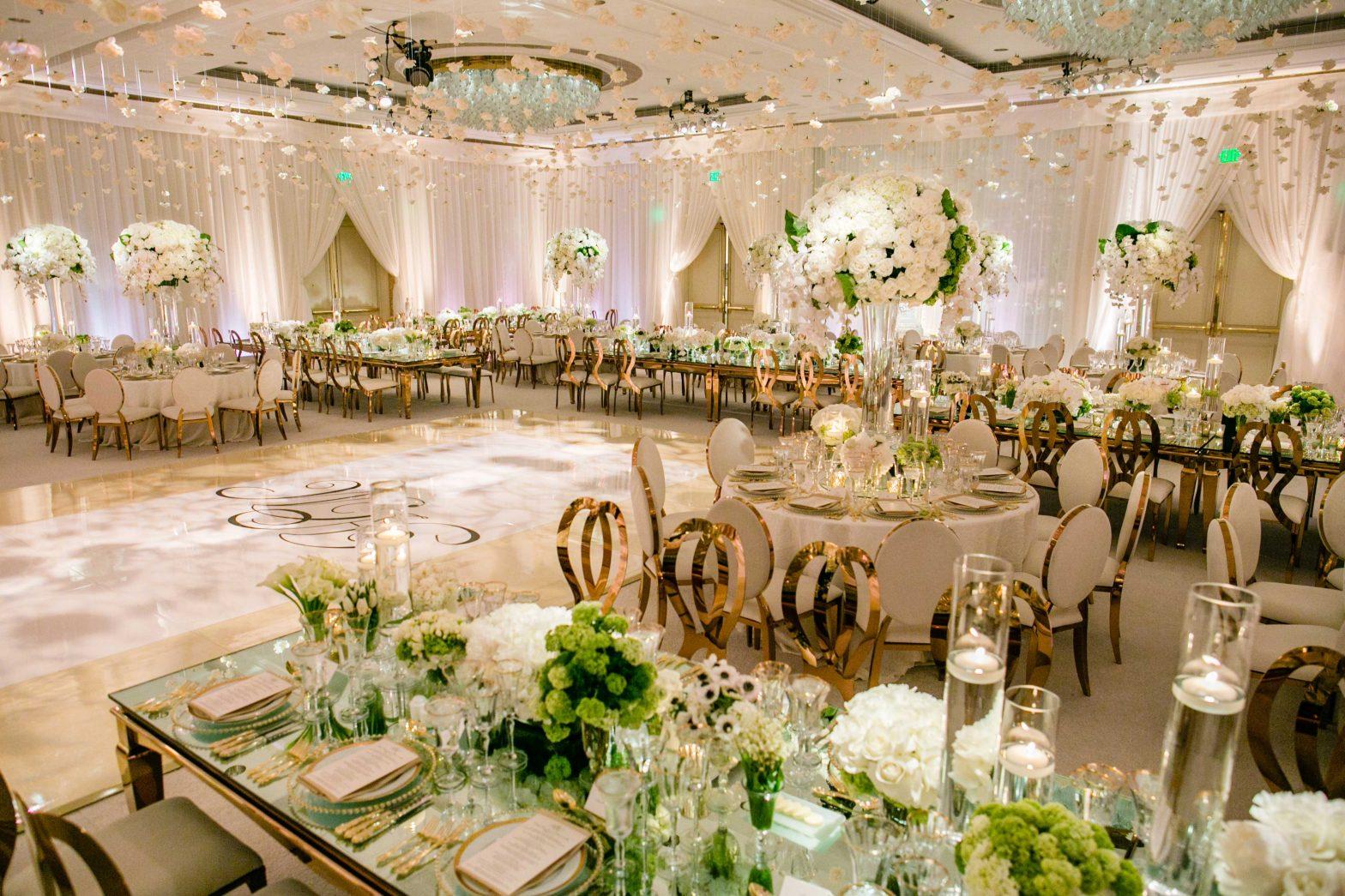 Hochzeitsessen Plan